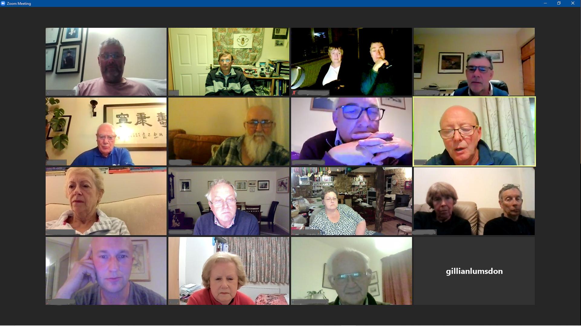 Attendees SBK Virtual 2nd Monday meeting 12 october 2020